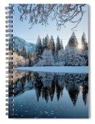 Granite Sunrise Spiral Notebook