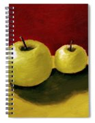 Granny Smith Apples Spiral Notebook