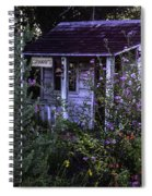 Granny's Garden Spiral Notebook