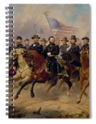 Grant And His Generals Spiral Notebook
