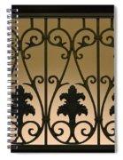 Grant Hotel San Diego Spiral Notebook
