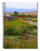 Grant Khors Ranch Deer Lodge  Mt Spiral Notebook