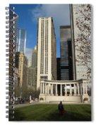 Grant Park Chicago Spiral Notebook