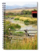 Grants Khors Ranch Vertical Spiral Notebook