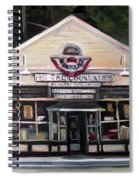 Granville Country Store Front View Spiral Notebook