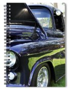Grape Fully Blown Pickup Spiral Notebook