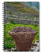 Grape Harvest Spiral Notebook