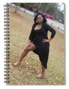 Grape Juice 4 Spiral Notebook
