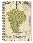 Grapes And Grace 2 Spiral Notebook
