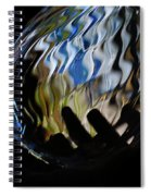 Grasping At Curves Spiral Notebook