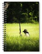 Grass Coverage Spiral Notebook