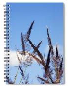 Grass Florets Spiral Notebook
