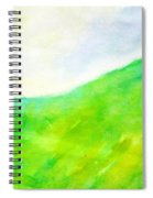 Grass In The Nature Spiral Notebook