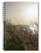 Grass Wave Spiral Notebook
