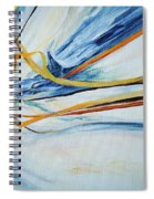 Grasses In The Snow Spiral Notebook