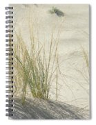Grasses On The Beach Spiral Notebook