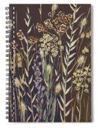 Grasses Spiral Notebook