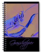 Grasshopper Poster Spiral Notebook
