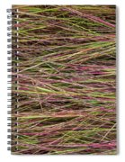 Grassy Abstract Spiral Notebook
