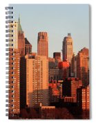Gratte Ciel Manhattan Usa Spiral Notebook
