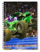 Grave Digger 7 Spiral Notebook