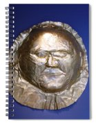 Grave Mask Spiral Notebook