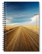 Gravel Lines Spiral Notebook