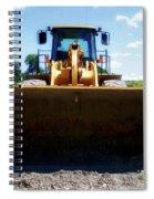Gravel Pit Cat 972g Wheel Loader 01 Spiral Notebook