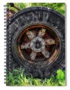 Gravel Pit Goodyear Truck Tire Spiral Notebook