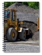 Gravel Pit Loader And Dump Truck 04 Spiral Notebook