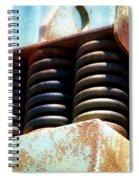 Gravel Pit Warrior Power Screen 05 Spiral Notebook