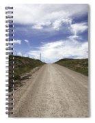 Gravel Road Spiral Notebook