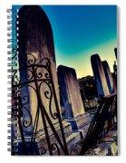 Gravesite Spiral Notebook