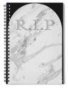 Gravestone Spiral Notebook