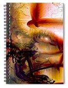 Gravity Of Love Spiral Notebook