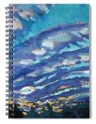 Gravity Storm Spiral Notebook