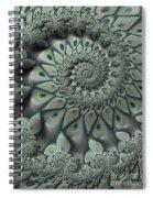 Gray Spiral Spiral Notebook