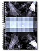 Gray Towers Spiral Notebook
