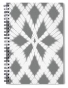 Gray Twisted Braids Spiral Notebook