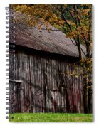 Gray Weathered Barns Number Three Spiral Notebook