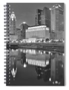 Grayscale Columbus Spiral Notebook