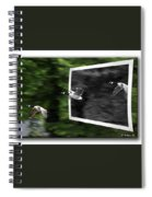 Grayscale To Color Spiral Notebook
