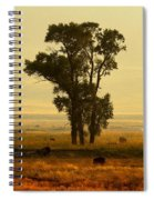 Grazing Around The Tree Spiral Notebook