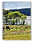 Grazing With A View Spiral Notebook