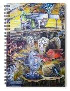 Great Balls Of Fire Spiral Notebook
