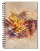 Great Bang Fractal Art Spiral Notebook
