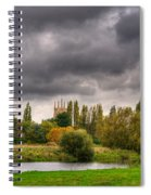 Great Barford River View Spiral Notebook