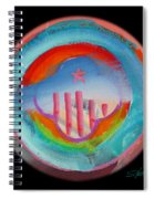 Great Blue Morning Spiral Notebook