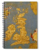 Great Bretain And Ireland Spiral Notebook