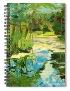 Great Brook Farm Canoe Launch Spiral Notebook